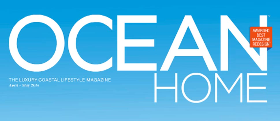 Schooner Bay in Ocean Home Magazine