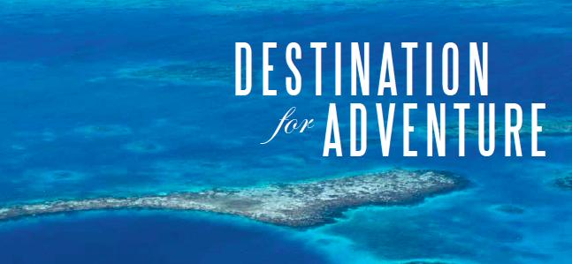 Destination for Adventure: Blue Holes